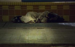homeless sleeper